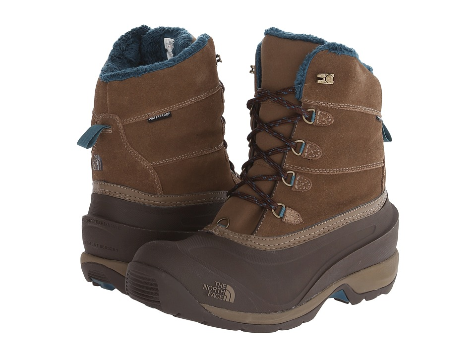 The North Face - Chilkat III (Cub Brown/Mediterranea Green) Women