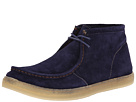 Hush Puppies - Aquaice Wallaboot (Dark Blue Suede) - Footwear