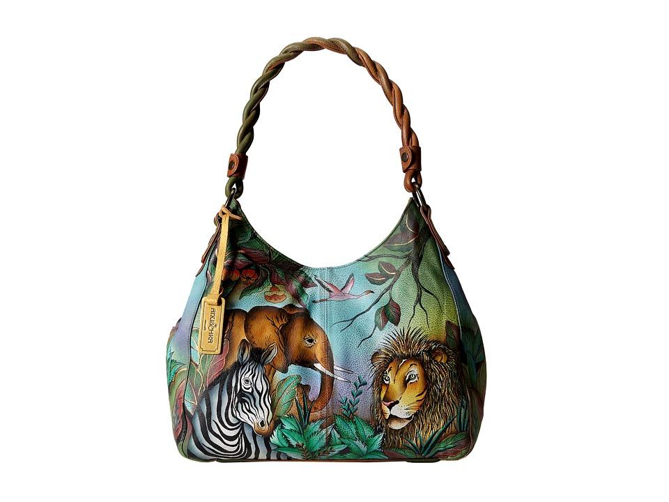 Anuschka Handbags - 533 (African Adventure) Handbags