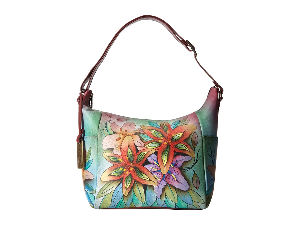 Anuschka Handbags - 529 (Lucious Lillies) Handbags