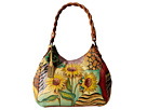 Anuschka Handbags - 533 (Sunflower Safari) - Bags and Luggage