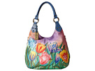 Anuschka Handbags - 514 (Turkish Tulips)