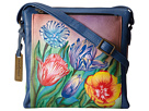 Anuschka Handbags - 520 (Turkish Tulips) - Bags and Luggage