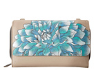 Anuschka Handbags - 1116 (Dreamy Dahilias) - Bags and Luggage
