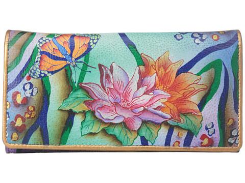 Anuschka Handbags 1095 Accordion Flap Wallet
