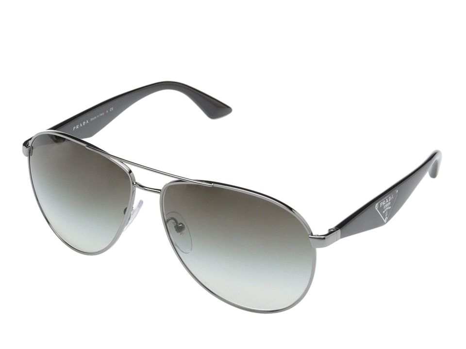 Prada 0PR 53QS Gunmetal/Grey Gradient Fashion Sunglasses