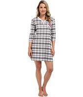 Karen Neuburger - Darling Marie 3/4 Sleeve Pullover Nightshirt