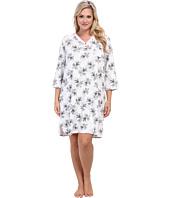 Karen Neuburger - Plus Size Darling Marie 3/4 Sleeve Pullover Nightshirt
