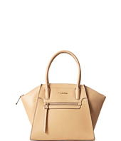 Calvin Klein - Key Item Leather Satchel