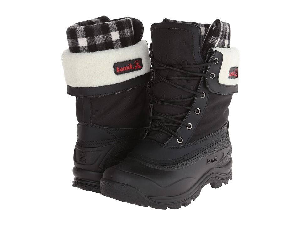 Kamik Sugarloaf Black Womens Cold Weather Boots