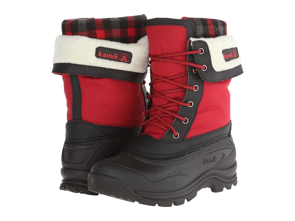 Kamik Sugarloaf Red Womens Cold Weather Boots