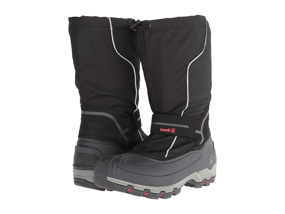 Kamik Whitehills Black Mens Cold Weather Boots