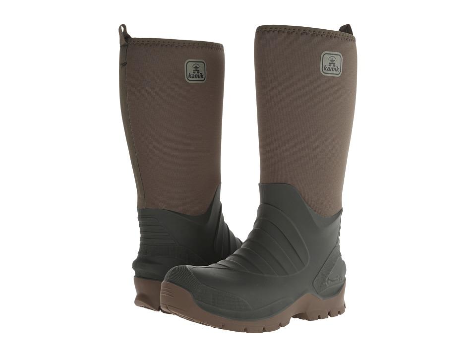 Kamik Bushman Olive Mens Cold Weather Boots