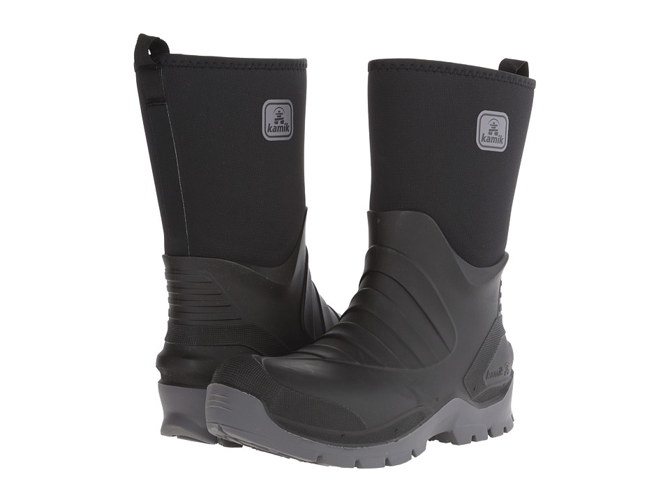 Kamik Shelter Black Mens Cold Weather Boots