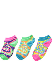 Jefferies Socks - Tie Dye Low Cut 3-Pack (Infant/Toddler/Little Kid/Big Kid)