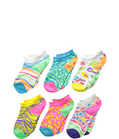 Jefferies Socks - Wild Safari Low Cut 6-Pack (Infant/Toddler/Little Kid/Big Kid)
