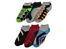 Jefferies Socks - Tech Sport Low Cut 6-Pack (Toddler/Little Kid/Big Kid)