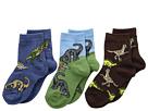 Jefferies Socks Dino Triple Treat 3-Pack (Infant/Toddler/Little Kid)
