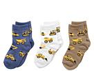 Jefferies Socks - Construction Triple Treat 3-Pack (Infant/Toddler/Little Kid)