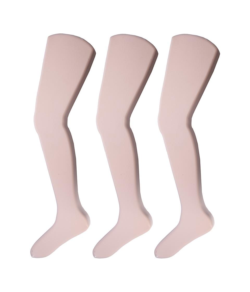Jefferies Socks - Jr. Miss Pantyhose 3-Pack (Toddler/Little Kid/Big Kid) (White) Hose