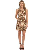 Vince Camuto - Printed Scuba Dress