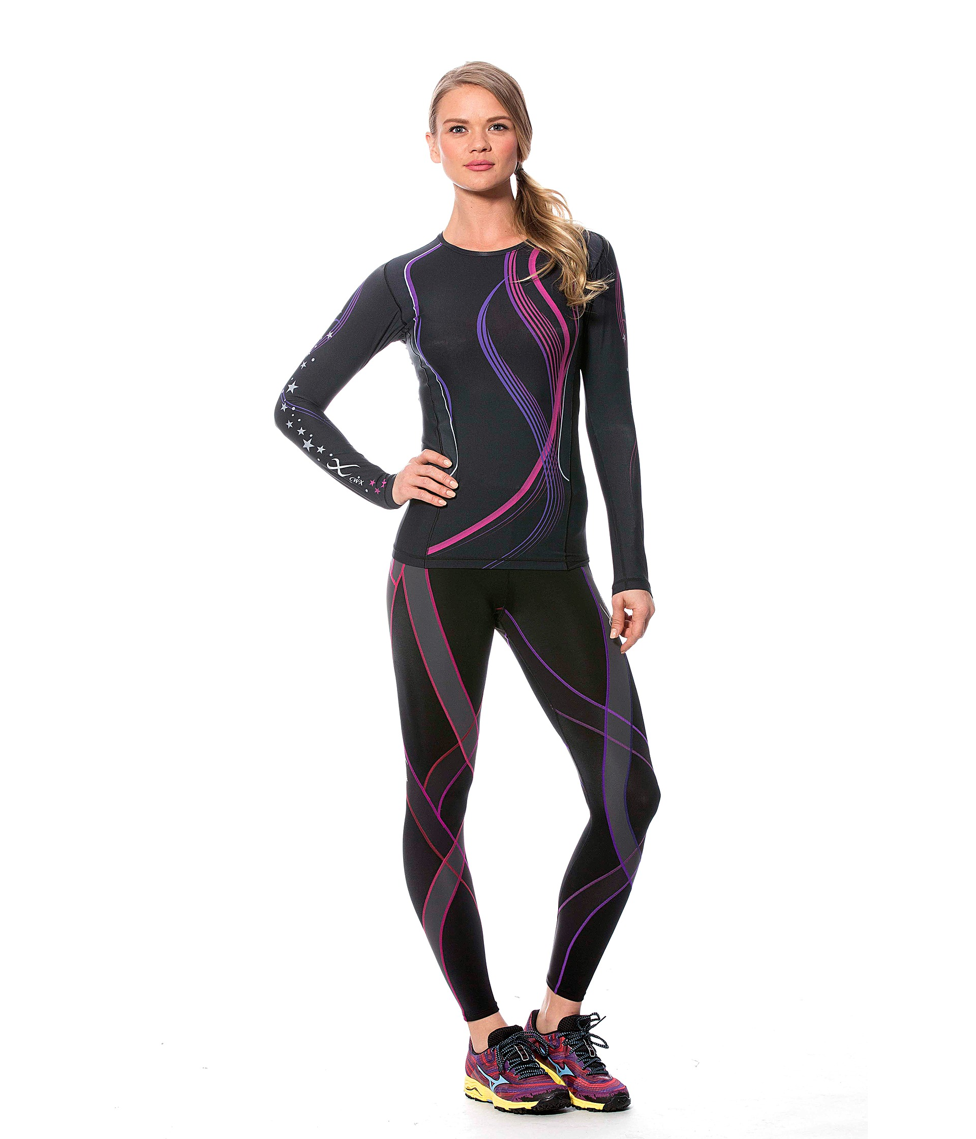 CW-X Endurance Generator Tights - Zappos.com Free Shipping ...