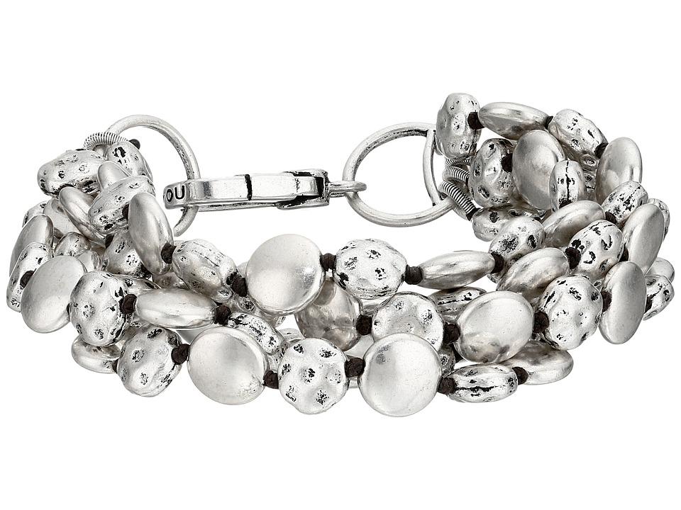 Lucky Brand Coin Bracelet (Silver) Bracelet