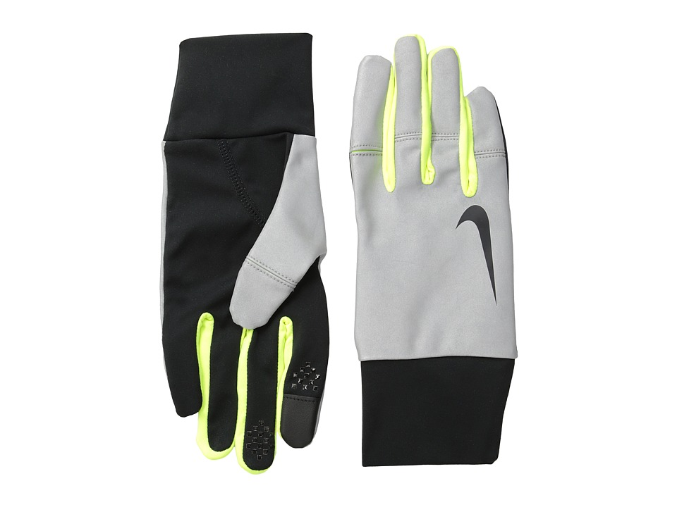Nike Nike Women's Vapor Flash Run Gloves (Black/Volt) Athletic Sports Equipment