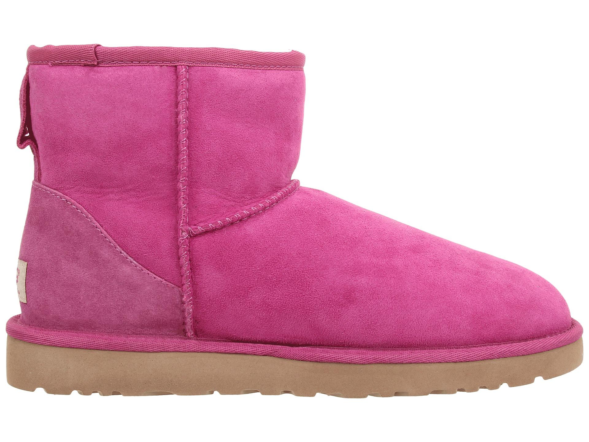 ugg classic mini victorian pink