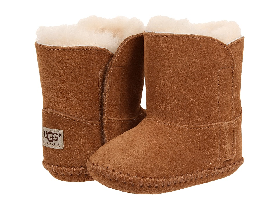 UGG Kids Caden (Infant/Toddler) (Chestnut Suede) Kids Shoes