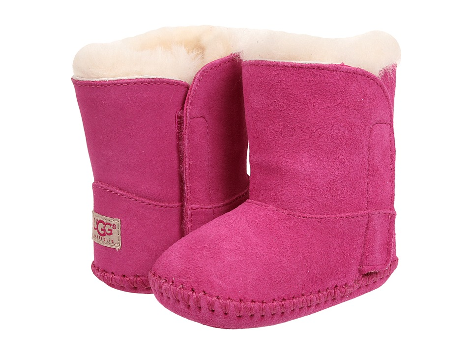 UGG Kids Caden (Infant/Toddler) (Princess Pink Suede) Girls Shoes