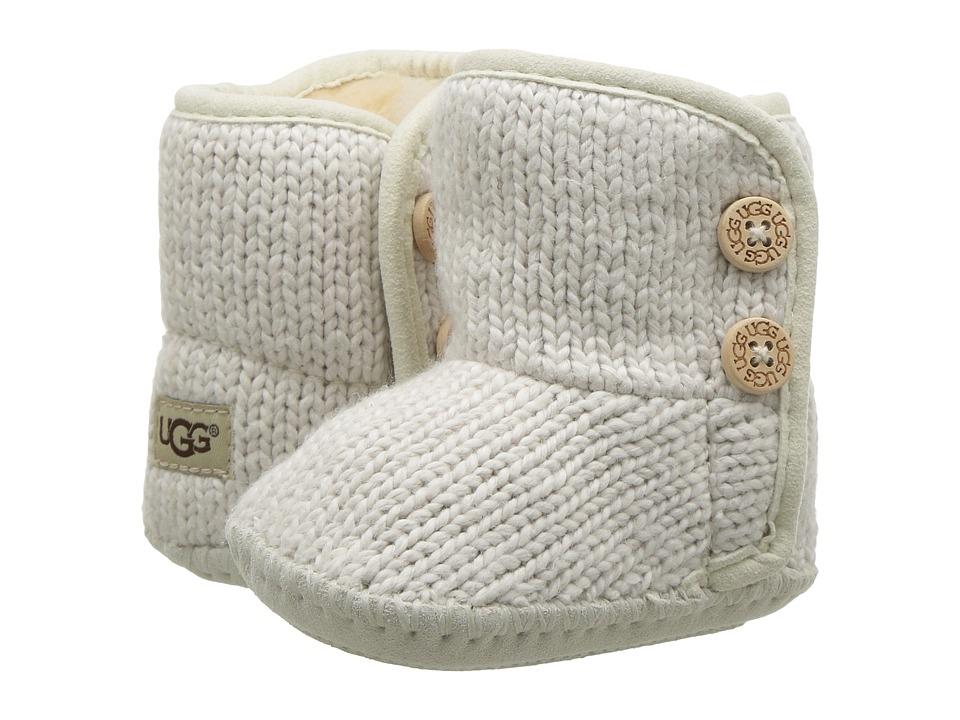 UGG Kids Purl (Infant/Toddler) (Ivory) Girls Shoes