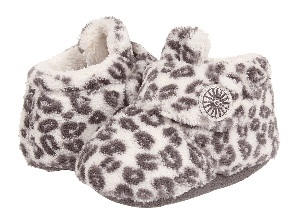 UGG Kids Bixbee Leopard Infant/Toddler Snoe Leopard Girls Shoes