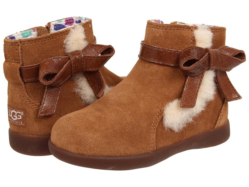 UGG Kids Libbie Toddler Chestnut Girls Shoes