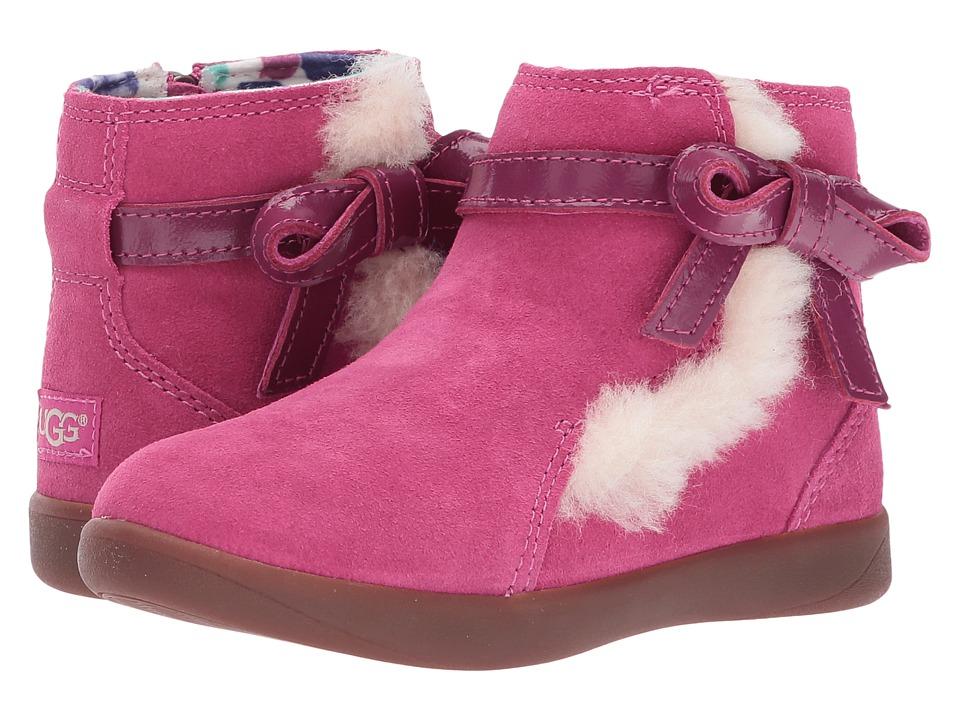 UGG Kids Libbie Toddler Raspberry Sorbet Girls Shoes