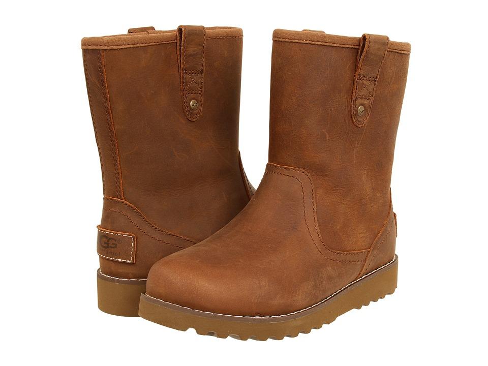 UGG Kids Redwood (Toddler/Little Kid/Big Kid) (Chestnut Leather) Boys Shoes