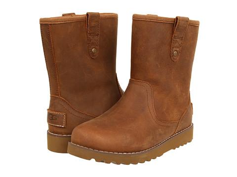 UGG Kids Redwood (Toddler/Little Kid/Big Kid) - Chestnut Leather