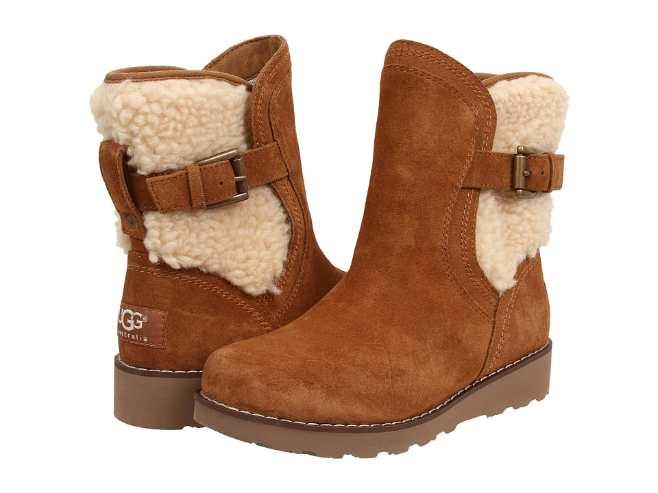 UGG Kids Jayla Little Kid/Big Kid Chestnut Girls Shoes