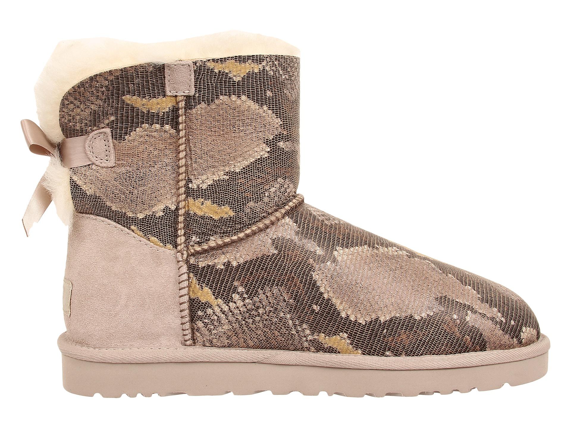 ugg mini bailey bow snake womens boots cheap watches mgc gas com rh mgc gas com