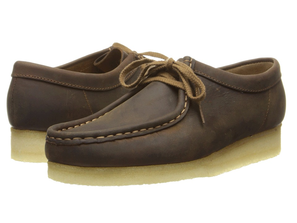 Clarks Wallabee (Beeswax Leather 1) Women's Shoes