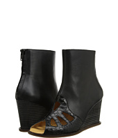 MM6 Maison Margiela - Peep-Toe Leather Boots