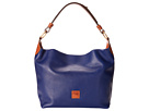Dooney & Bourke Calf O-Ring Satchel
