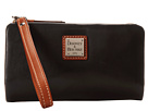 Dooney & Bourke Lambskin Small Snapper Wristlet