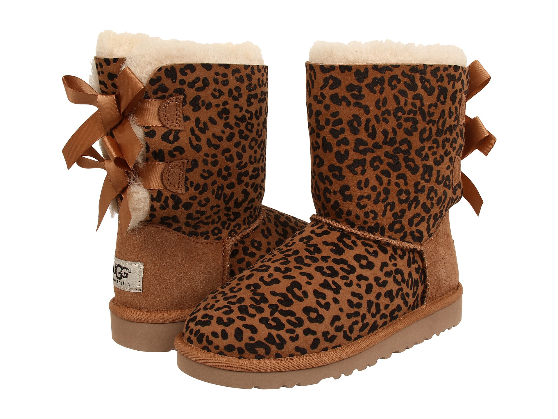Ugg Boots With Cheetah Print Bows Image And Photo Beertology