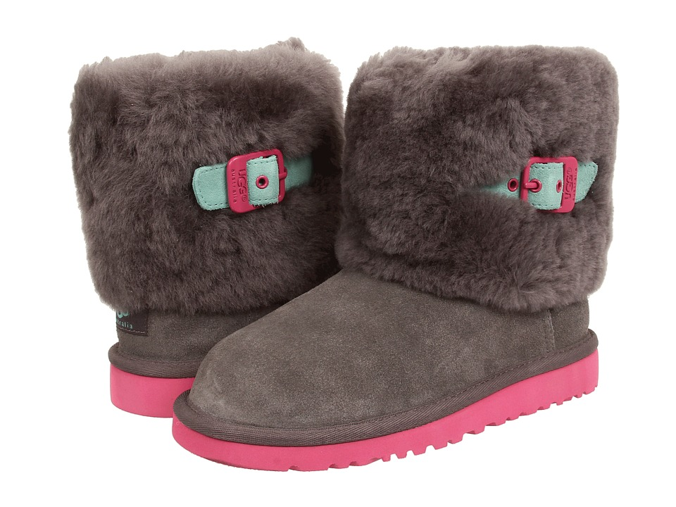 UGG Kids Ellee (Toddler/Little Kid/Big Kid) (Grey Surf) Girls Shoes