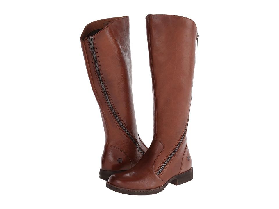 Born Laurette (Cognac (Tan) Full-Grain Leather) Women