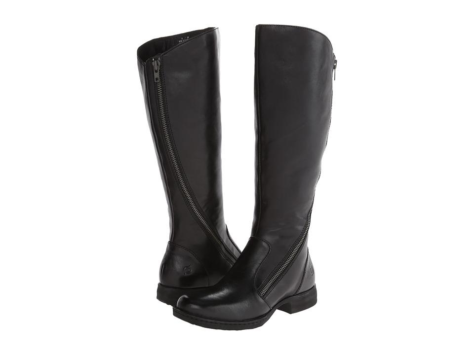 Born Laurette (Black Full-Grain Leather) Women