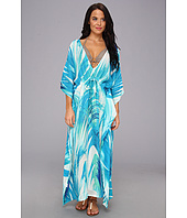 Echo Design - Panama Palms Silk Dress