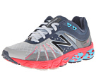 New Balance W890v4 Grey, Pink Shoes