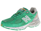 New Balance M990 Green, Grey Shoes
